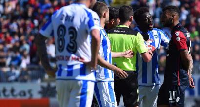 Choc Cagliari: Muntari lascia il campo per cori razzisti. Zeman conferma