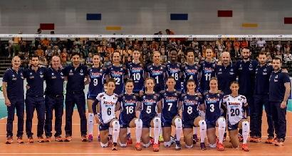 Volley femminile, qualificazione Mondiali: l'Italia parte bene, Bosnia stesa