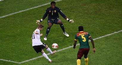 Confederations Cup: la Germania stende il Camerun, al Cile basta un pareggio