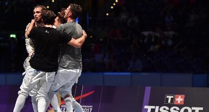 Scherma, Mondiali di Lipsia 2017: azzurri di bronzo nella sciabola a squadre