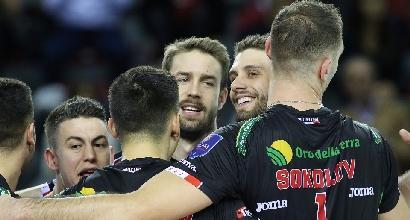 Volley, Superlega: vincono Perugia e Civitanova