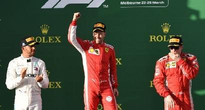 F1, il trionfo di Vettel mina le certezze della Mercedes