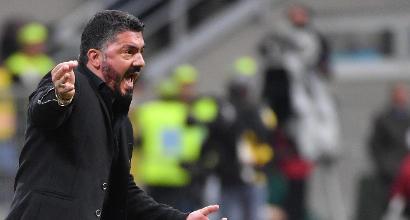 Figuraccia Milan col Benevento, Gattuso: