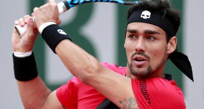 Roland Garros: Fognini passa in scioltezza, fuori Fabbiano