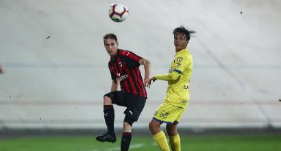 Milan, Conti squalificato 3 giornate in Primavera