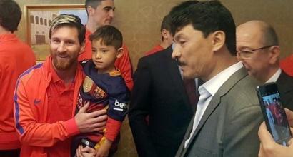 Murtaza, c'è il lieto fine: ricevute nuove maglie di Messi