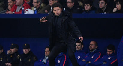 Atletico Madrid, Simeone sarà in panchina contro la Juventus a Torino
