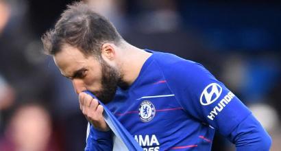 Il Chelsea vuol tagliare Higuain: a giugno il Pipita potrebbe tornare alla Juve
