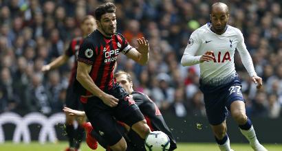Premier League: il Tottenham batte 4-0 l'Huddersfield, 2-1 dello United sul West Ham
