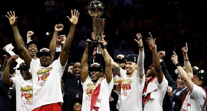 Nba, i Raptors sono campioni