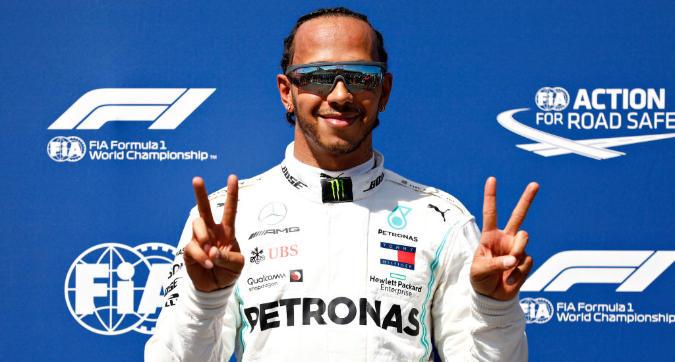 F1, Hamilton: uno dei giri migliori