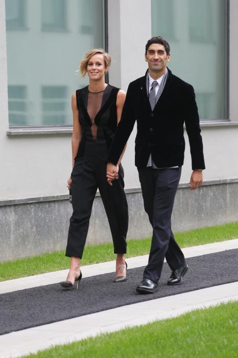 Federica Pellegrini, vestito sexy da Armani