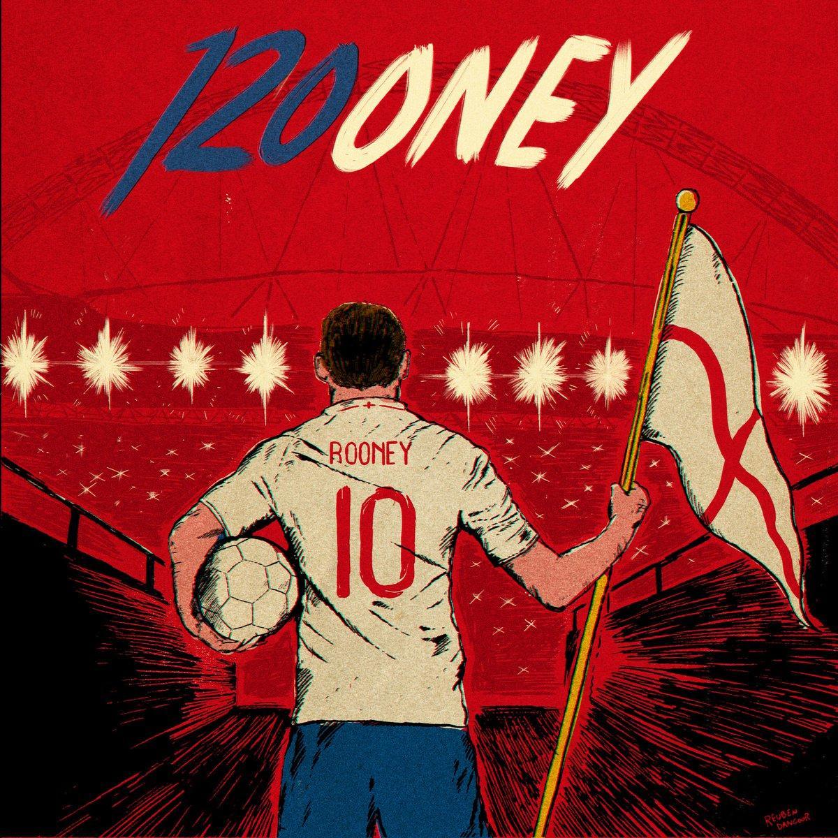 Wayne Rooney: l'ultima con l'Inghilterra