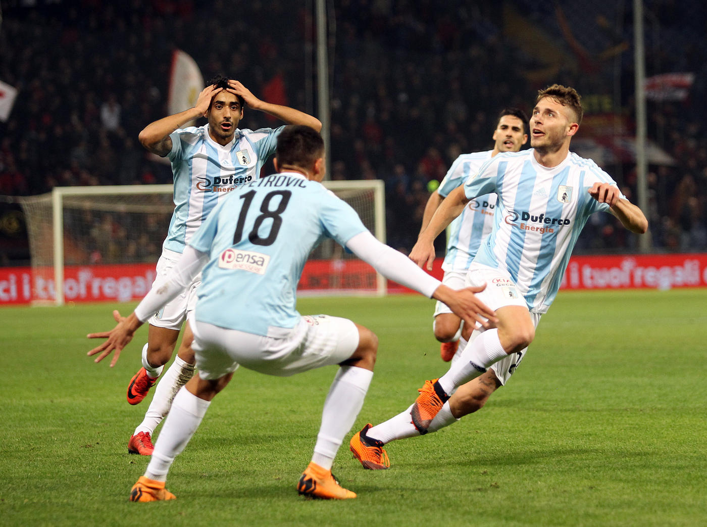 Coppa Italia, favola Entella