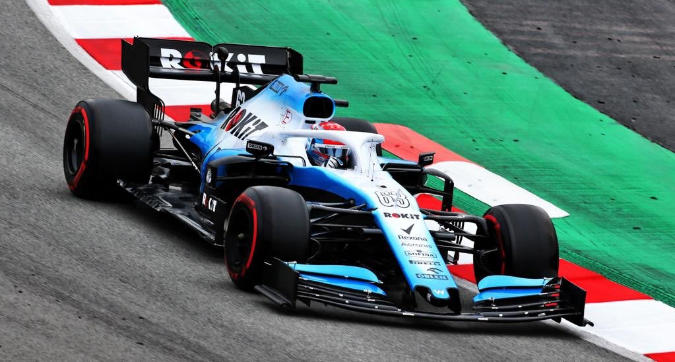 Williams, finalmente in pista