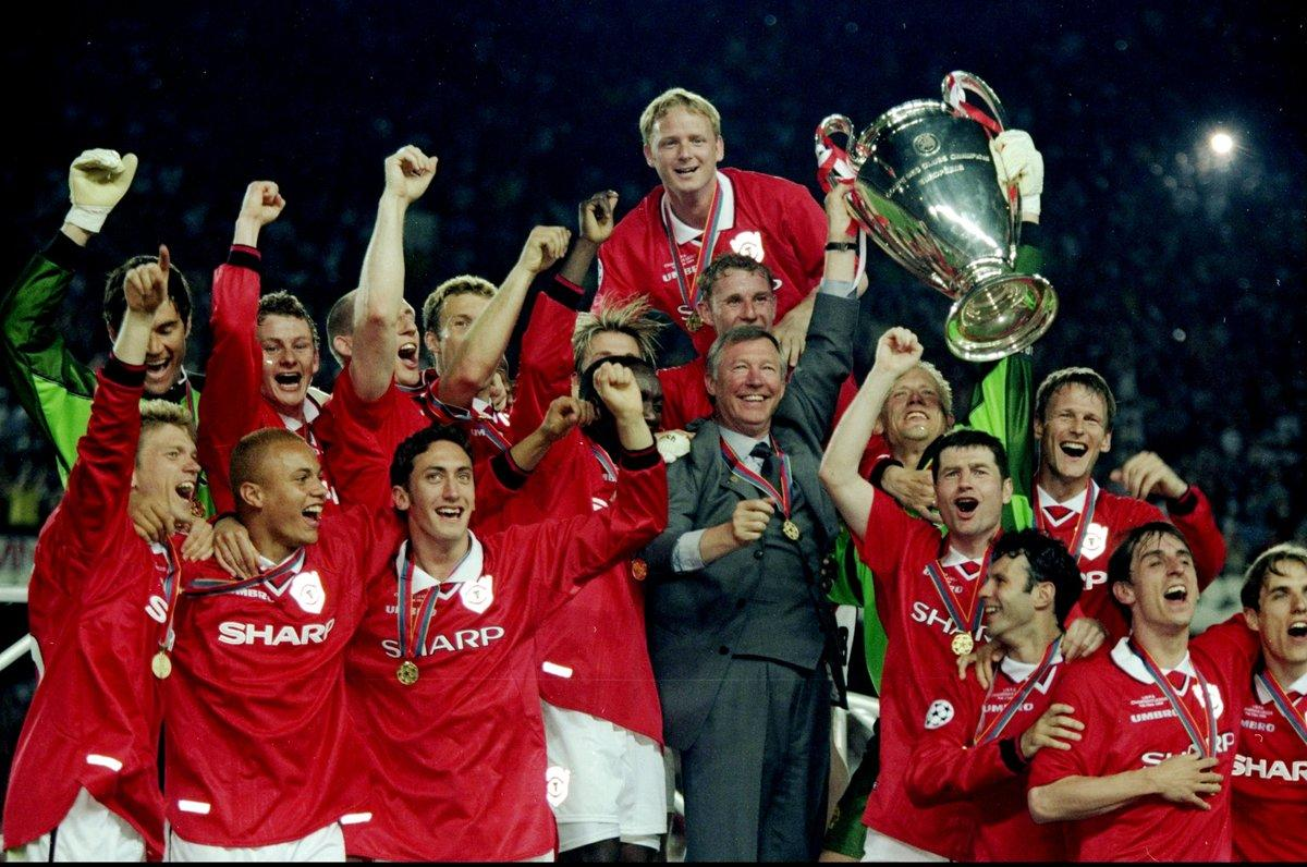 Manchester United. 1999. Finale vinta 2-1 col Bayern
