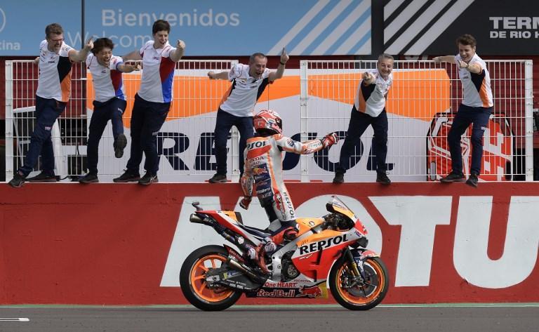 MotoGP, è Marquez a ballare il tango