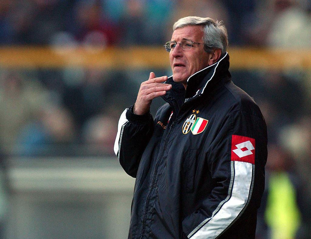 LIPPI: dopo aver allenato la Juventus vincendo tutto dal 1994 al 1999, torna sulla panchina bianconera nel 2001 conquistando lo scudetto