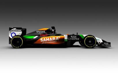F1, la Force India si veste di nero