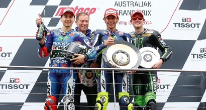Lorenzo Rossi Smith Australia MotoGP.com