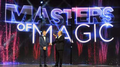 Masters of magic, Gerry Scotti conduce il campionato internazionale di magia