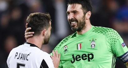 """Juve, Buffon: """"Scritto un altro pezzo di storia"""""""