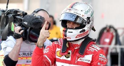 """Vettel: """"Che piacere guidare"""""""