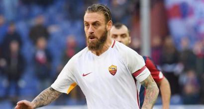 """Roma, due turni di squalifica per De Rossi: """"Gravemente antisportivo"""""""