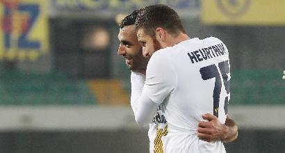 Coppa Italia, Chievo-Verona 5-6: Pecchia festeggia dal dischetto