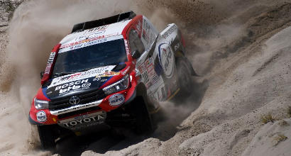 Dakar, auto: domina ten Brinke
