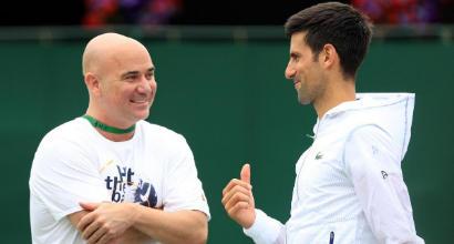 """Agassi rompe con Djokovic: """"Troppo spesso in disaccordo"""""""