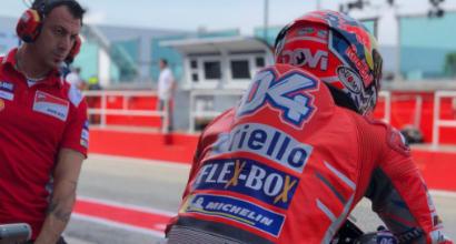 """MotoGP, Dovizioso: """"Noi veloci, ma il passo è un'incognita"""""""