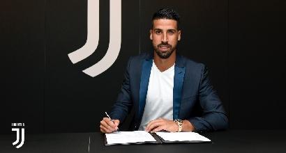 "Juve, Khedira rinnova fino al 2021: ""Ora la Champions"""