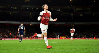 Ramsey in anticipo, la Juve ci prova: difficile, ma non impossibile