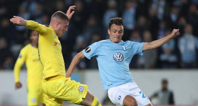 Europa League: il Chelsea espugna Malmö 2-1, il Valencia si impone a Glasgow