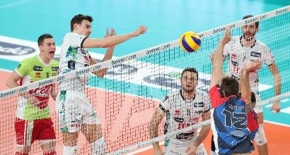 Volley: Trento affonda in casa Monza 3-1