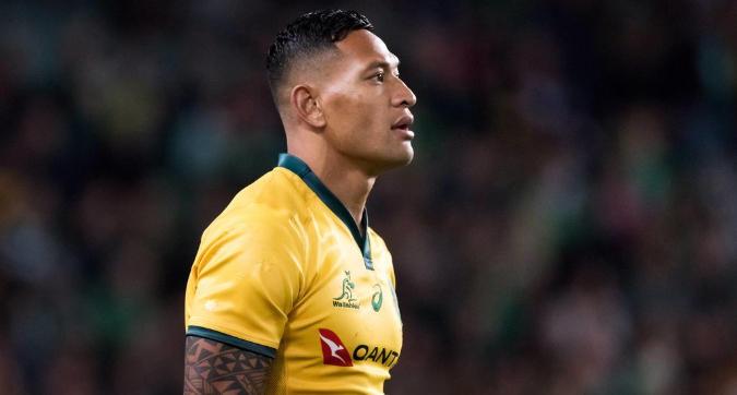 Rugby, bufera in Australia per il messaggio omofobo di Israel Folau
