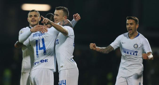 L'Inter cala il tris a Frosinone