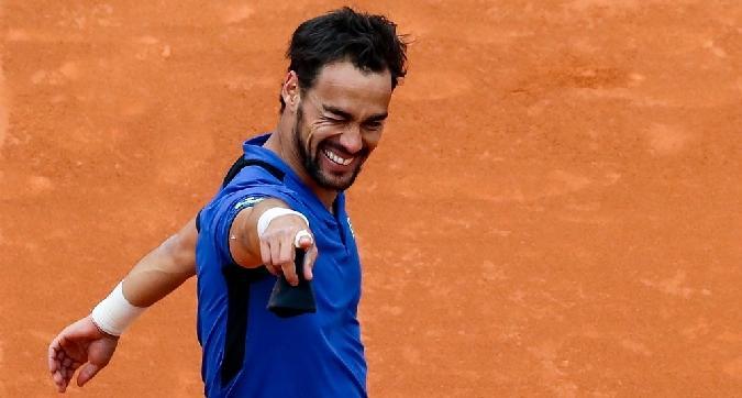 Tennis, Fognini nuovo numero 12 Atp
