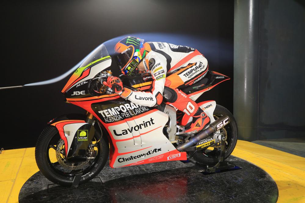 Moto2, Marini e Baldassarri in galleria del vento