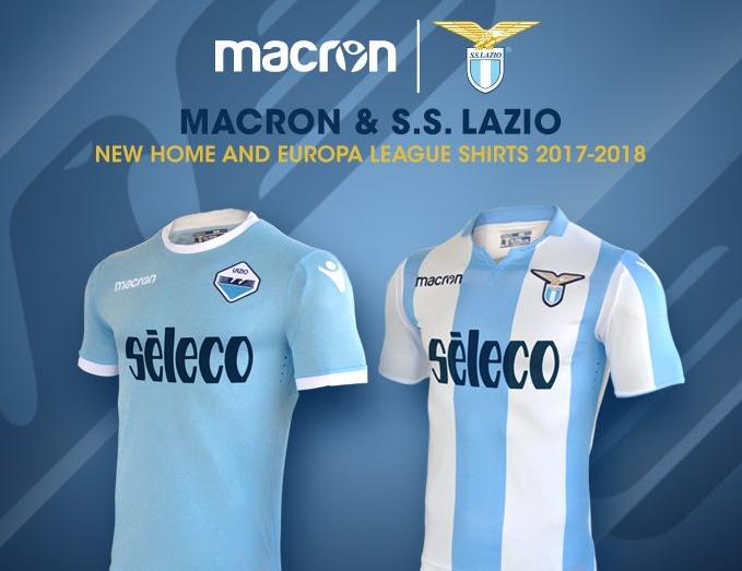 Lazio, nuova maglia dal sapore di storia