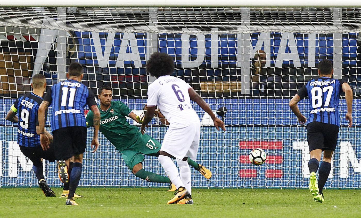 L'Inter parte col tris