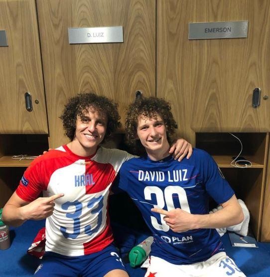 David Luiz-Alex Kral