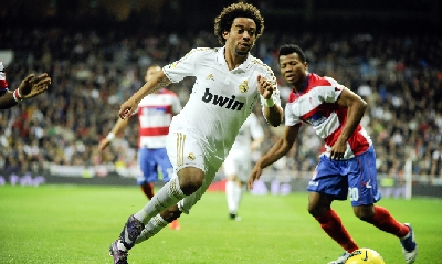 Real Madrid-Granada (Afp)