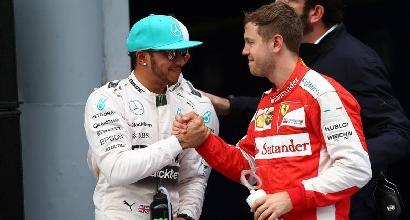 Hamilton e Vettel (Afp)