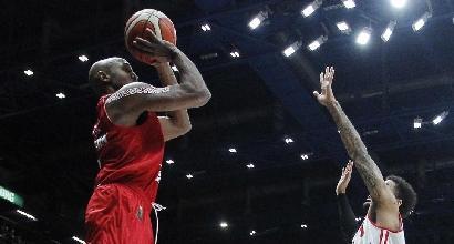 Basket, Serie A: riscatto Milano, crolla Reggio Emilia
