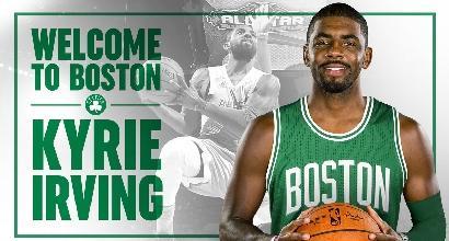 Nba: Irving lascia Cleveland, nel suo futuro i Celtics