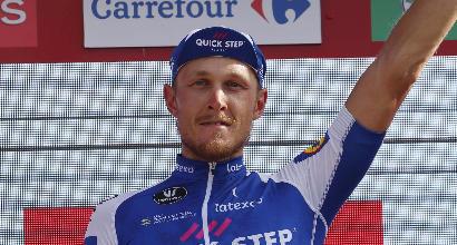 Vuelta di Spagna, tredicesima tappa: tris di Trentin, Froome resta in rosso