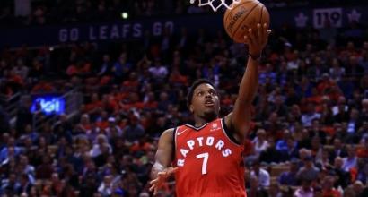 Nba: Toronto rischia ma supera San Antonio, Kings ancora ko