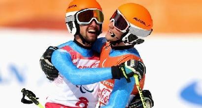 Paralimpiadi PyeongChang 2018, Bertagnolli oro nel gigante